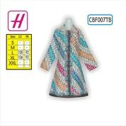 Batik Wanita, Desain Baju Batik, Tunik Batik, CBF007TB