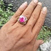 Ruby Cutting Cincin Perhiasan Jewerly