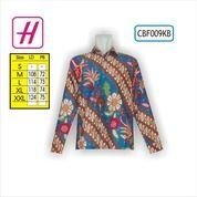 Grosir Pakaian, Kemeja Batik Pria, Busana Muslim, CBF009KB