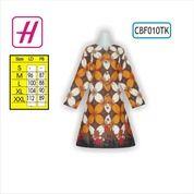 Batik Wanita Modern, Tunik Batik, Koleksi Baju Batik Wanita, CBF010TK