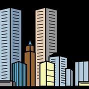 Gedung Bertingkat Tengah Kota Di Panglima Sudirman