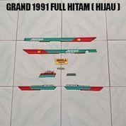 Striping Grand 1991 Full Hitam ( Hijau )