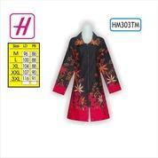 Busana Batik, Model Batik Terbaru, Contoh Batik Modern, HM303TM