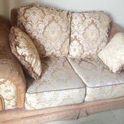 Sofa Gajah 3 Pcs 1 Set + Bantalnya Masih Bagus Istimewa