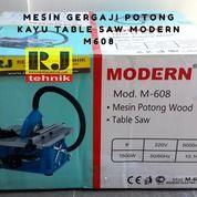 Mesin Gergaji Potong Kayu Table Saw Modern M608