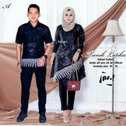 Baju Batik Couple Katun Tunik