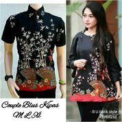 Couple Batik HEM Blouse