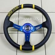 Stir Racing Import Drifting Celong 14 Inchi Palang Biru List Kuning