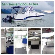Kapal Pesiar Mini Kapal Bayliner Kapal Pancing