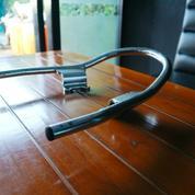 Behel Jok Belakang Chrome Original Yamaha Mio Lama