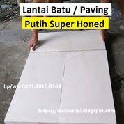 Paving Block Batu Putih Ukuran Besar Lantai Flooring