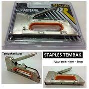 Steples Tembak Gun Tacker Kanyu Full Metal