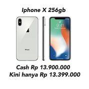 Termurah Iphone X 256gb Original Garansi Resmi 1 Tahun