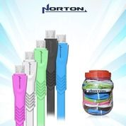 Kabel Data NORTON Type V8 Gepeng - Micro