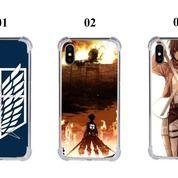 Anti Crack/ Soft Casing Handphone Shingeki No Kyojin / Attack On Titan