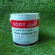 ALFAGLOS LIGHTWEIGHT POLYESTER PUTTY BODY LIGHT SIZE 2000GR + Hardener