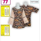 Gambar Model Batik, Baju Batik, Baju Batik Sarimbit, TOP715SBK