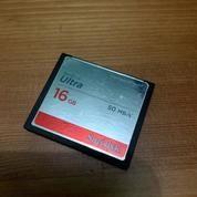 SanDisk Ultra Compact Flash Memory 16GB