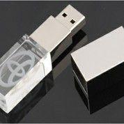Souvenir Flashdisk Kristal Promosi Bentuk Persegi 4gb - Fdspc26