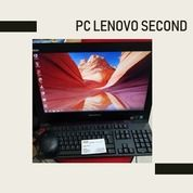 ALL In ONE PC LENOVO M Series SECOND Core I5 Gen4 Ram 8Gb Hdd 1Tb 20inch