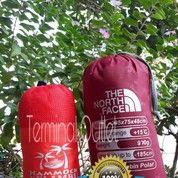 Paket Sleeping Bag Polar Biasa + Hammock Kelambu
