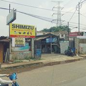 Toko Bangunan Strategis Di Pinggir Jalan Utama Jl. Raya Parung