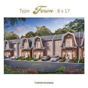Rumah Medan Resort City Tipe Feron 8x17 M2