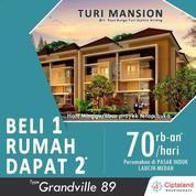 Perumahan Turi Mansion, Beli 1 Rumah Dapat 2* - Rumah Murah Di Medan