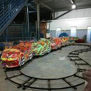 Wahana Mainan Rjm Mini Coaster Odong Bekas
