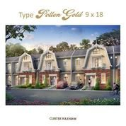 Perumahan Medan Resort City Tipe Pollen Gold 9x18