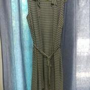 [GRAPHIS] Black White Stripe Long Vest