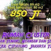 Rumah Cluster Sejuk Nyaman Dan Tenang Di Munjul Cipayung Jakarta Timur