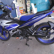 Yamaha MX King 2017 Warna Blue Silver Yamaha Racing