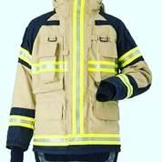 Fire Jaket Pemadam Kebakaran Anti Bara Dan Tahan Api