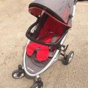 Stroller + Baby Car Seat Siap Pakai