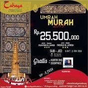 Paket Umrah Murah 2019 Keberangkatan Tanggal 9 Oktober Dan 11 November 2019 Maskapai Saudi Airlines