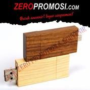 Souvenir Flashdisk Kayu OTGWD01 - USB OTG Wood 8GB