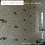 Dekorasi Hiasan Tempel Dinding Tembok Batu Putih Klasik Palimanan