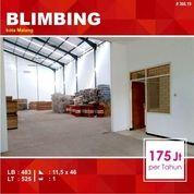 Gudang + Kantor Sewa Luas 525 Daerah Blimbing Kota Malang _ 366.19