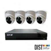 PAKET CCTV MURAH SPC 4CH Full HD 2MP KOMPLIT SIAP PASANG