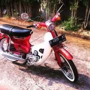 Honda C70 1975 Antik