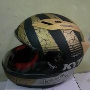 Helm KYT RC Seven #17 Black Doft / Gold Size M