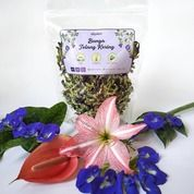 Telang Kering 50gr Butterfly Pea/Bunga Teleng Pewarna Alami Nasi Kerabu/Minuman Biru