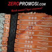 Tali ID Lebar 2.5 Cm Stopper Klip Min Order 300pc