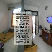 Rumah Full Renovasi Lt 110/60 Permata Pamulang