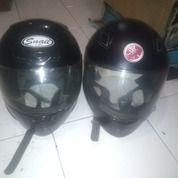 2 Helm Full Face SNAIL Dan Yamaha Byson 300k