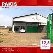 Gudang Luas 4.118 Di Pakisjajar Pakis Kota Malang _ 385.19