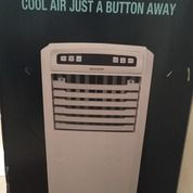 Sharp Pj-A55TY-W AIR COOLER.. COOL AIR JUST A BUTTON AWAY..