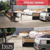 Kavling Tomang, Jakarta Barat, 12x16m, SHM