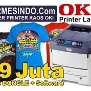 DISTRIBUTOR PRINTER OKI SABLON KAOS PALU Mesin Cetak Baju A4 A3 Kertas Laser Transfer Paper